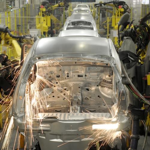 Linia produkcyjna samochodów