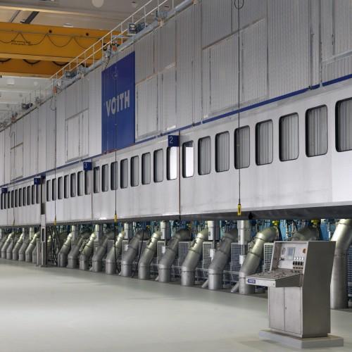 Część susząca maszyny papierniczej