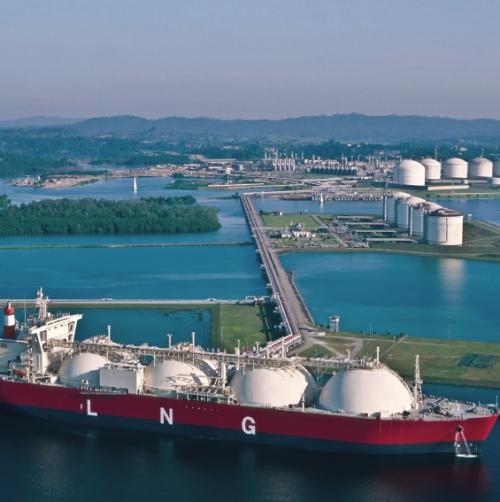 LNG - Naturalny gaz ciekły