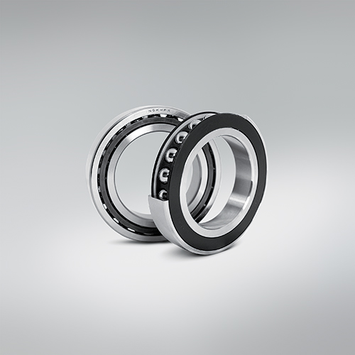 Angular Contact Ball Bearings, Selaed Peek Cage, 2Comp